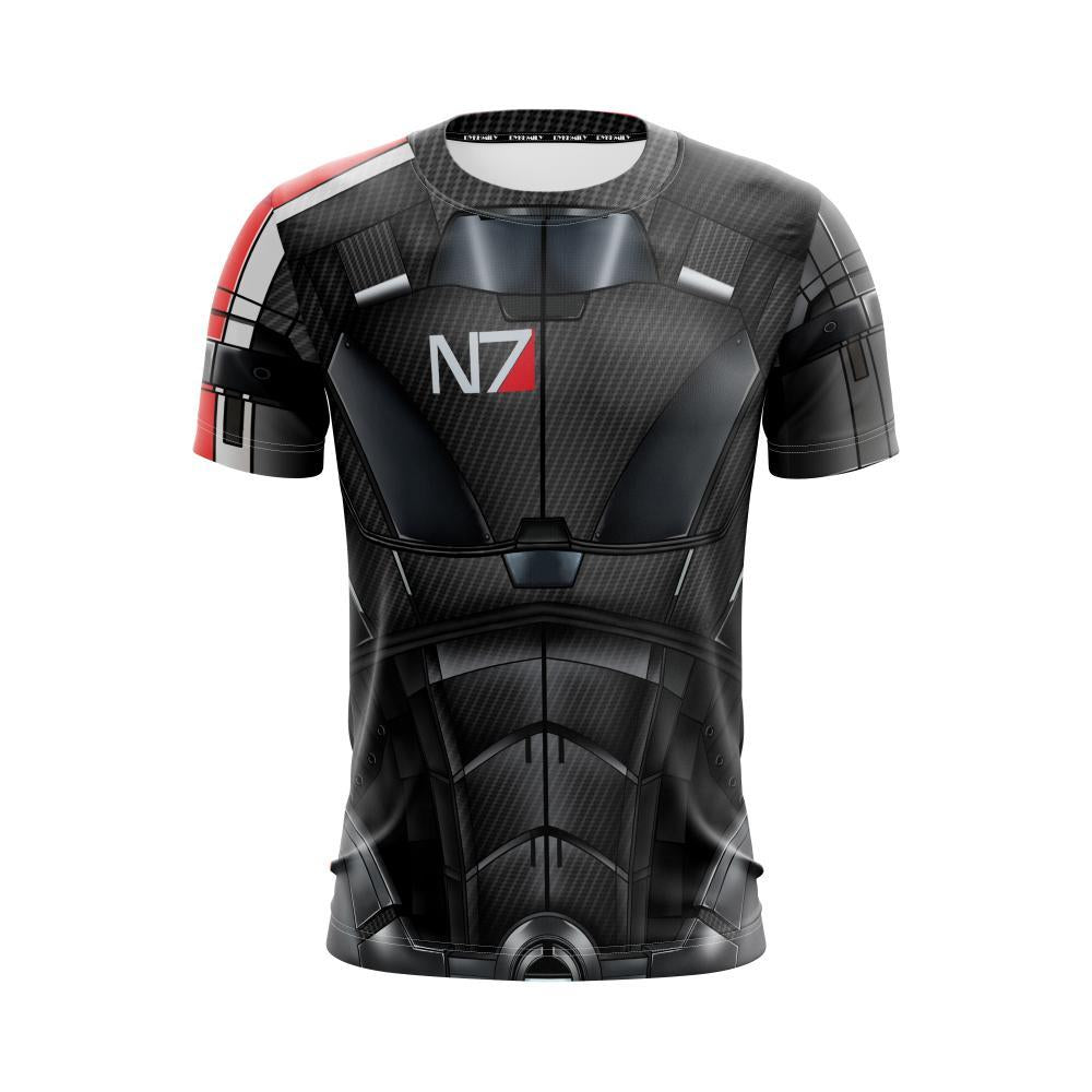 Mass Effect 3 Andromeda Cosplay Unisex 3D T-shirt