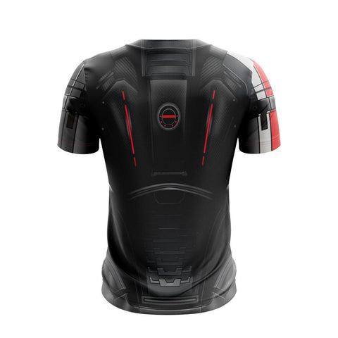 Image of N7 Men Suit Mass Effect 3 Unisex 3D T-shirt