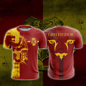 Football Gryffindor Harry Potter Unisex 3D T-shirt