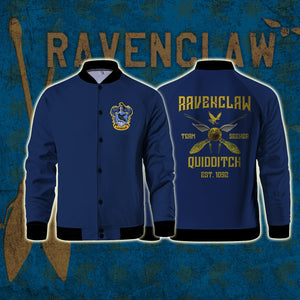 Ravenclaw Quidditch Team Harry Potter Baseball Jacket