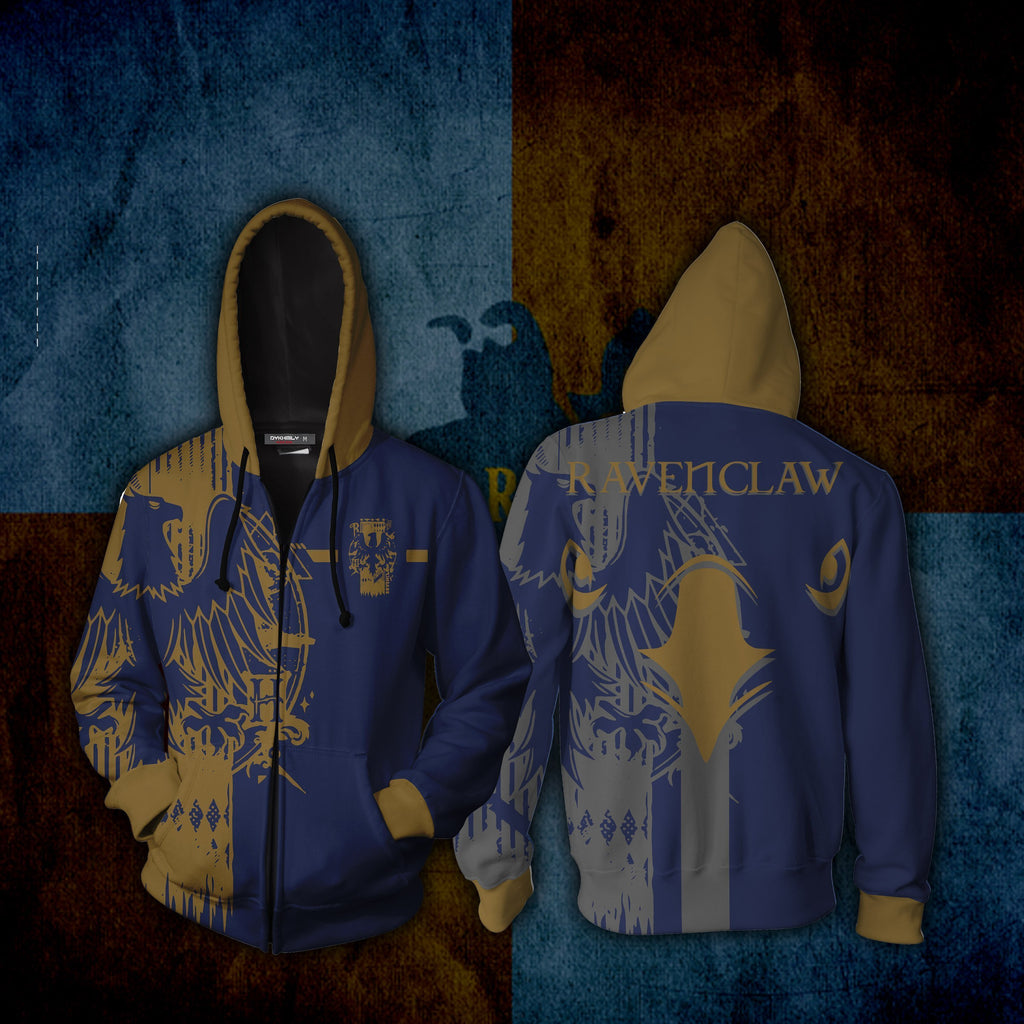 Quidditch Ravenclaw Harry Potter New Look Zip Up Hoodie