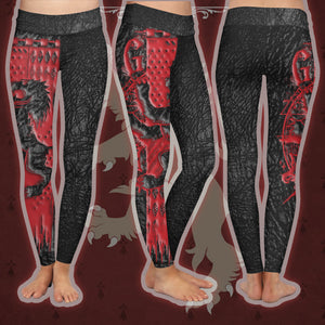 The Gryffindor Lion Harry Potter Leggings