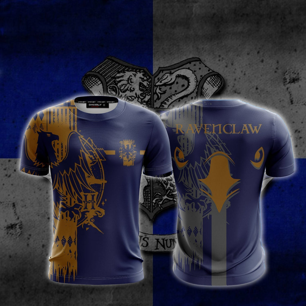 Quidditch Ravenclaw Harry Potter New Look Unisex 3D T-shirt