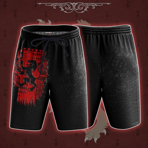 The Gryffindor Lion Harry Potter Beach Short