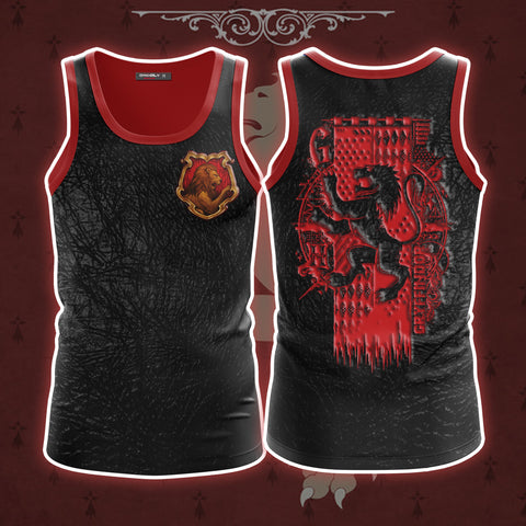 The Gryffindor Lion (Harry Potter) 3D Tank Top