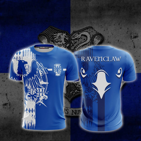 Quidditch Ravenclaw Harry Potter Unisex 3D T-shirt