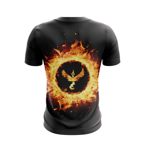 Image of Moltres Pokemon Go Unisex 3D T-shirt