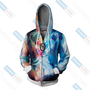 Magic: The Gathering Zip Up Hoodie Jacket