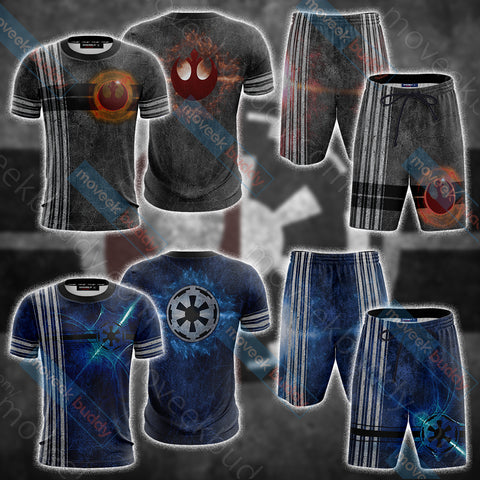 Star Wars - Rebels Alliance Unisex 3D T-shirt