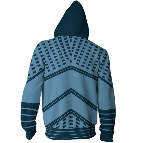 Image of Game Of Thrones Night King Cosplay Zip Up