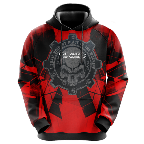 Gears Of War - I Shall Hold My Place In The Machine Unisex 3D Hoodie