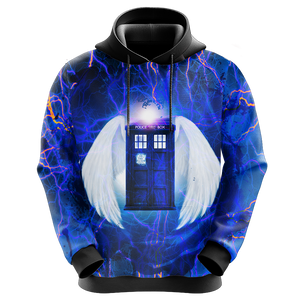 Doctor Who - Tardis New Style Unisex 3D Hoodie