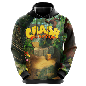 Crash Bandicoot New Style Unisex 3D Hoodie