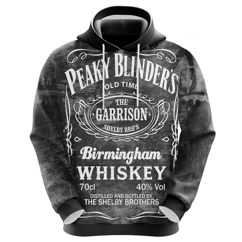 Peaky Blinders I Do Bad Things Unisex 3D Hoodie