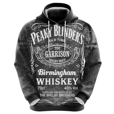 Image of Peaky Blinders I Do Bad Things Unisex 3D Hoodie
