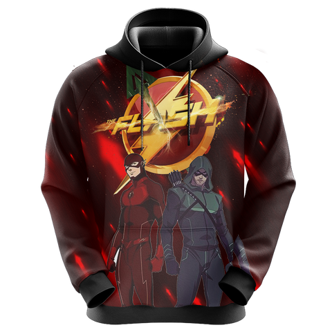 Image of Arrow and Flash New Unisex 3D Hoodie