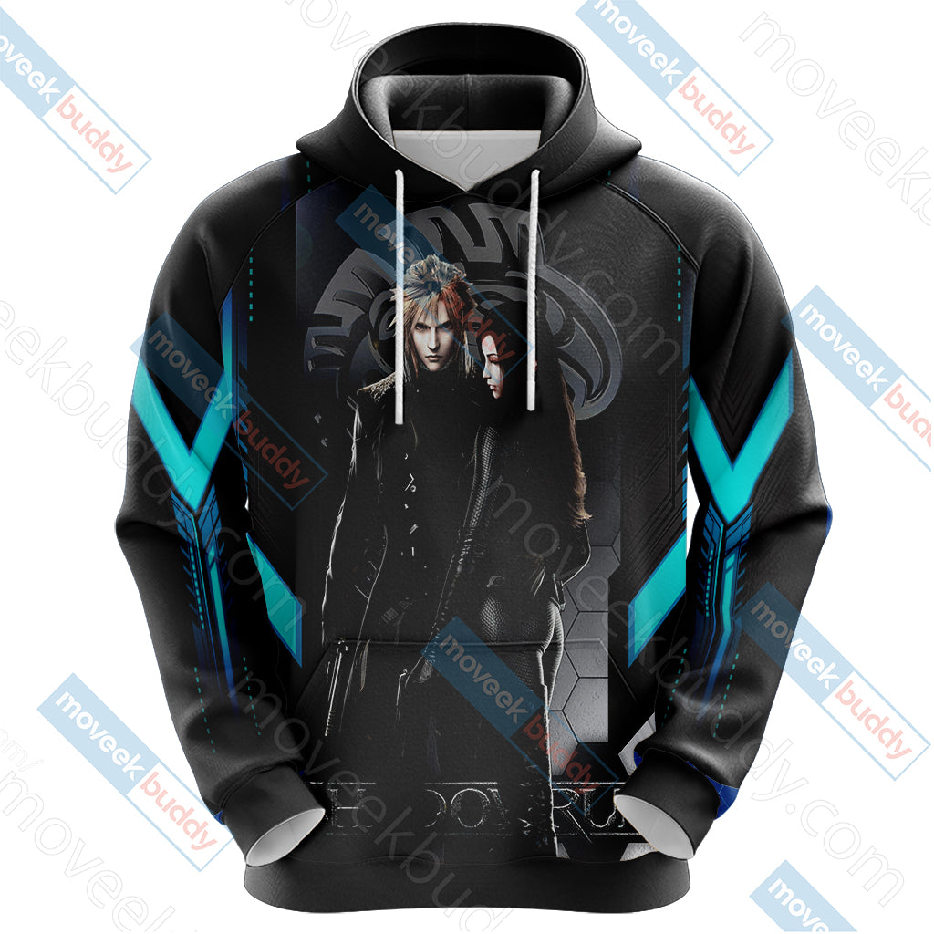 Final Fantasy - Cloud and Tifa Unisex 3D Hoodie