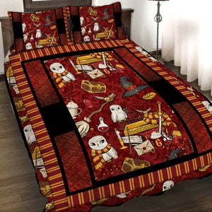 Harry Potter Gryffindor 3D Quilt Set