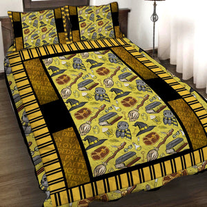 Harry Potter Hufflepuff 3D Quilt Set