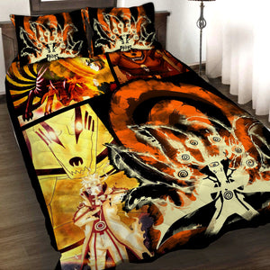 Naruto Hokage 3D Quilt Bed Set