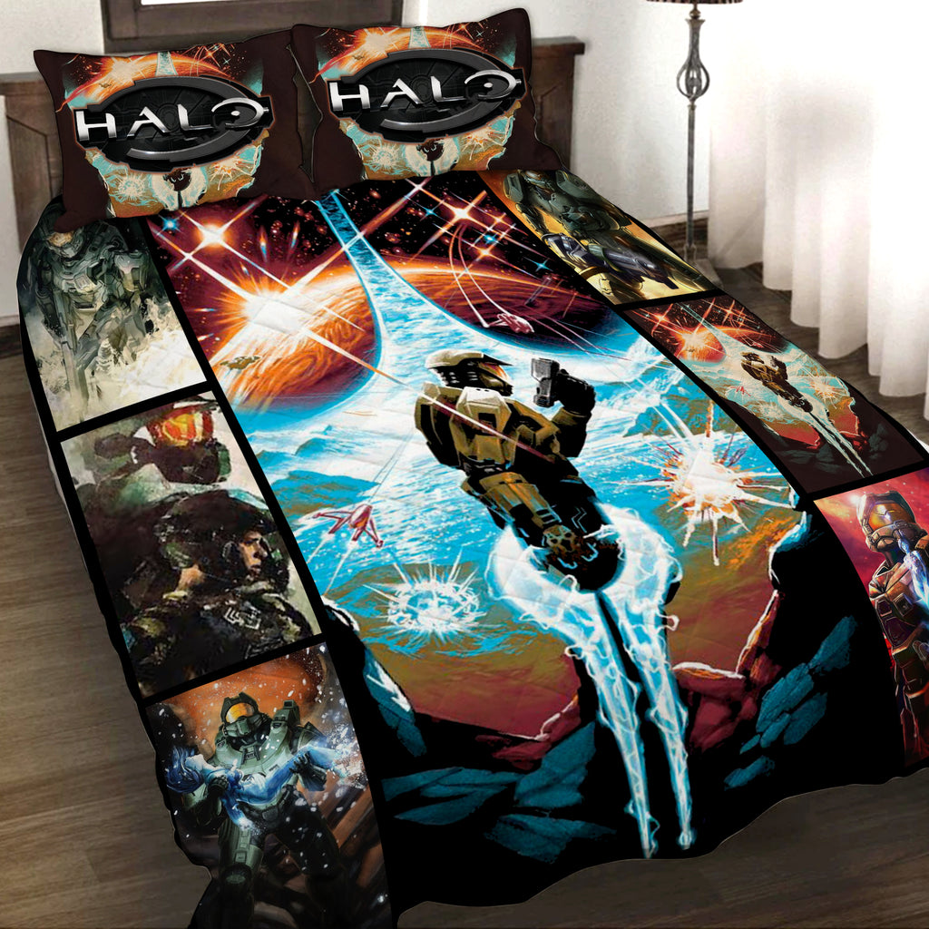Halo New 3D Quilt Set