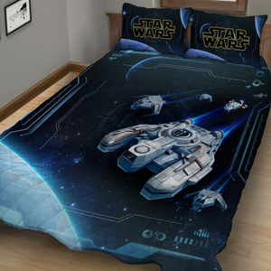 Star wars spaceship 3D Quilt Set