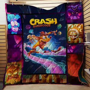 Crash Bandicoot 3D Quilt Set