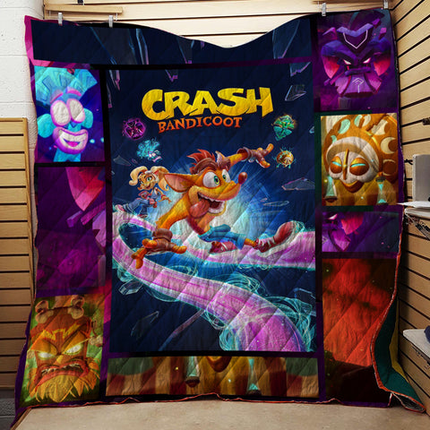 Image of Crash Bandicoot 3D Quilt