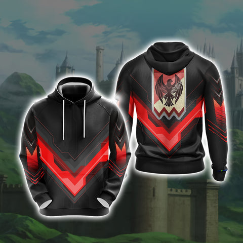 Image of Fire Emblem Version 2 Unisex 3D Hoodie