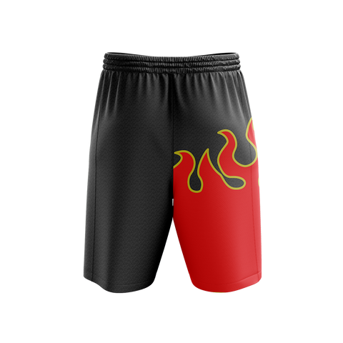Tekken Jin Kazama Red Flame Cosplay Beach Short