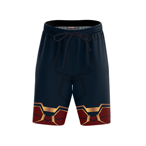 Image of Spider-man: Homecoming Iron Spider Cosplay Beach Short