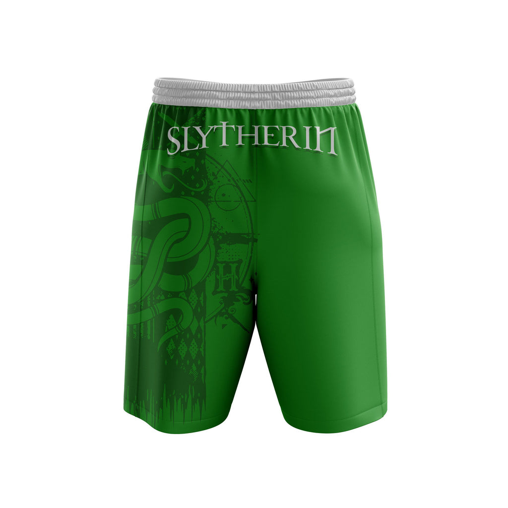 Quidditch Slytherin Harry Potter Beach Short