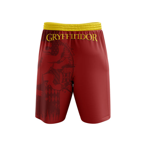 Image of Quidditch Gryffindor Harry Potter Beach Short