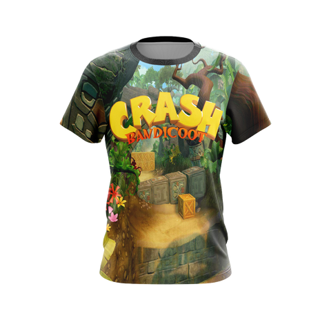 Crash Bandicoot New Style Unisex 3D T-shirt