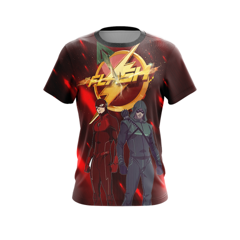 Image of Arrow and Flash New Unisex 3D T-shirt