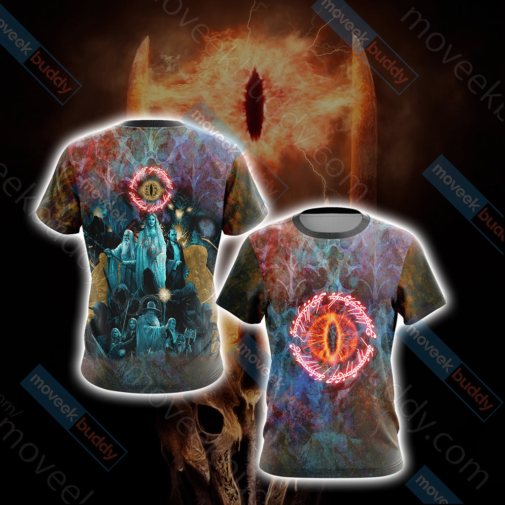 Lord Of The Rings Unisex 3D T-shirt