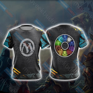Magic: The Gathering New Unisex 3D T-shirt