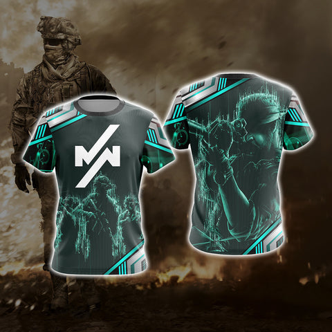 Call of Duty - Modern Warfare Unisex 3D T-shirt