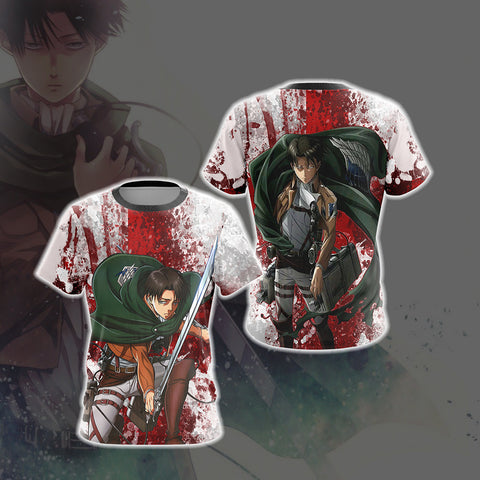Image of Attack on Titan - Levi Unisex 3D T-shirt