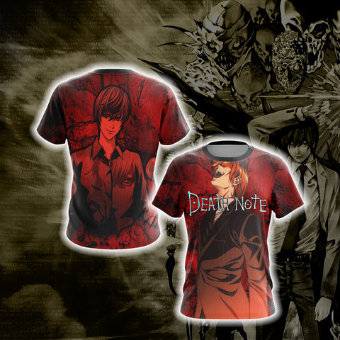 Image of Death Note - Light Yagami Unisex 3D T-shirt
