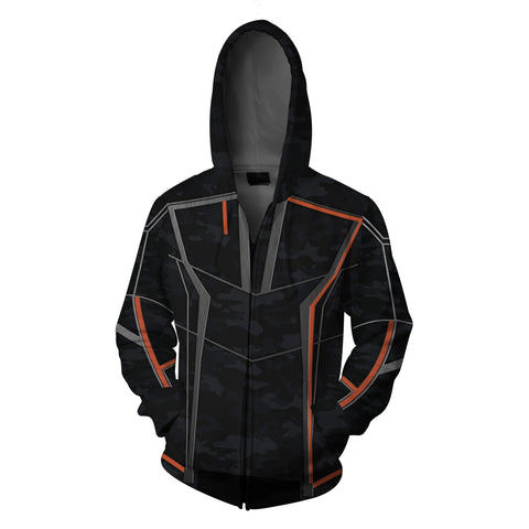 Image of Iron Man (Tony Stark) Zip Up Hoodie