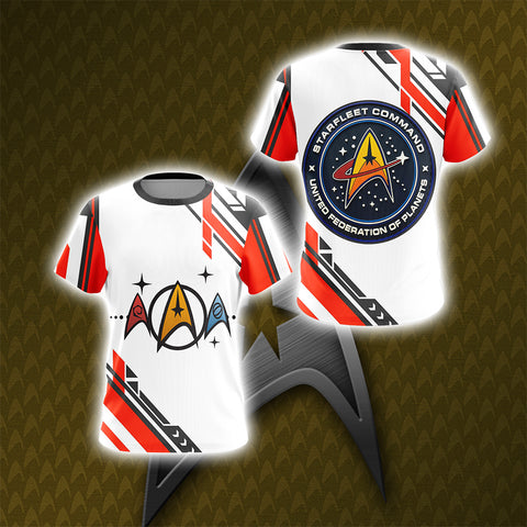 Image of Star Trek - Starfleet Unisex 3D T-shirt