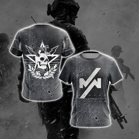 Call of Duty Modern Warfare Unisex 3D T-shirt