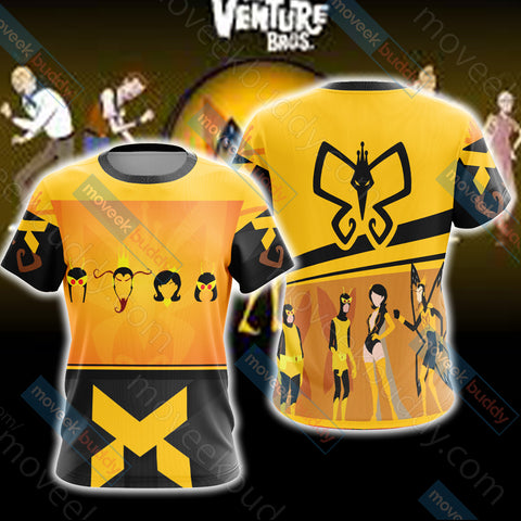 Image of The Venture Bros. - The Monarch Unisex 3D T-shirt
