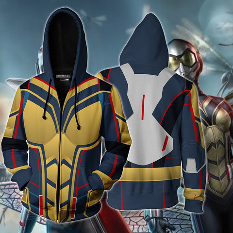 Image of The Wasp Cosplay Zip Up Hoodie Jacket