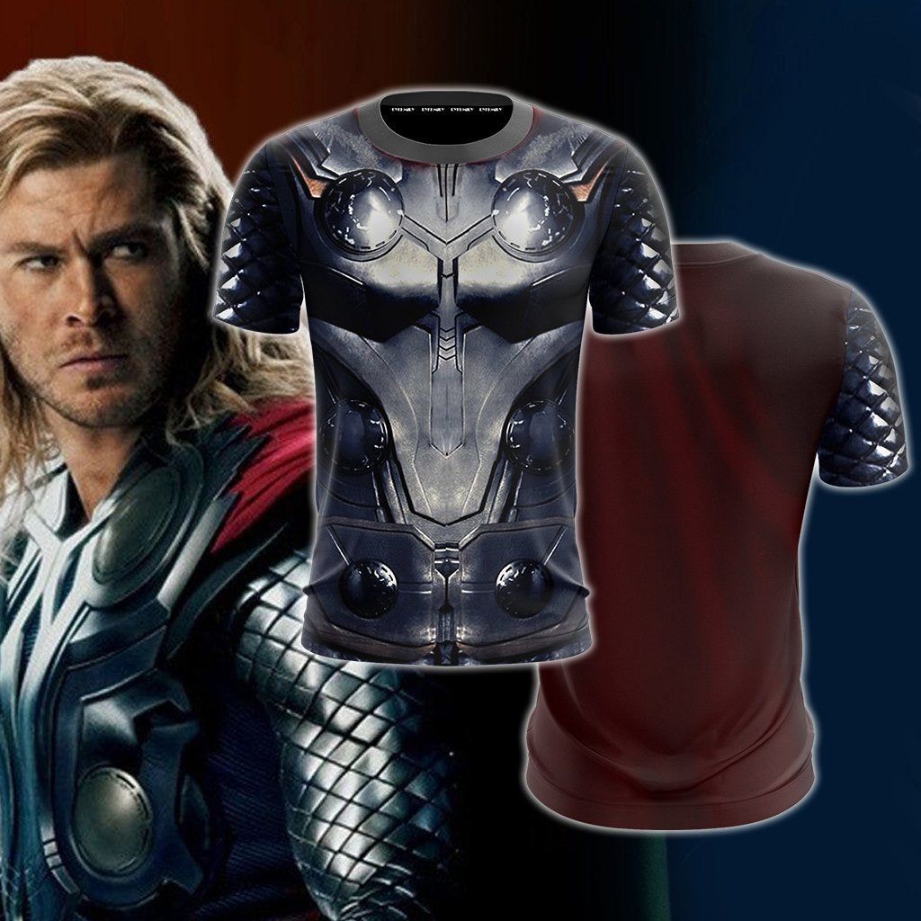 Thor Cosplay Unisex 3D T-shirt