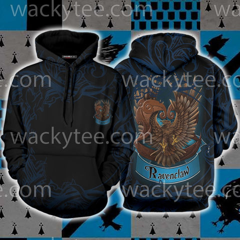 Wise Like A Ravenclaw Harry Potter 3D Hoodie