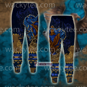 Wise Like A Ravenclaw Harry Potter Wacky Style Jogging Pants