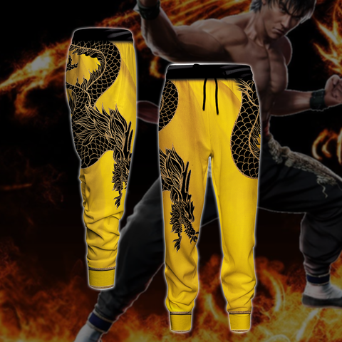 Image of Tekken Marshall Law Cosplay 3D Jogging Pants
