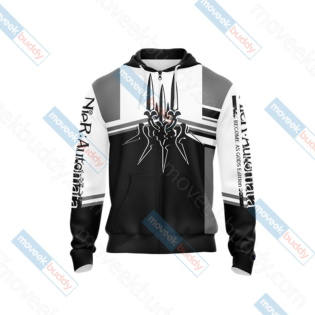 NieR: Automata New Unisex Zip Up Hoodie Jacket